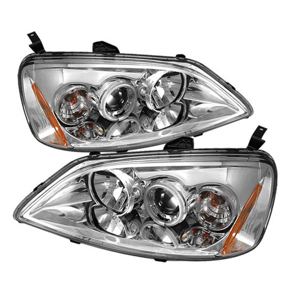 Spyder Auto - CCFL Halo Projector Headlights 5029782