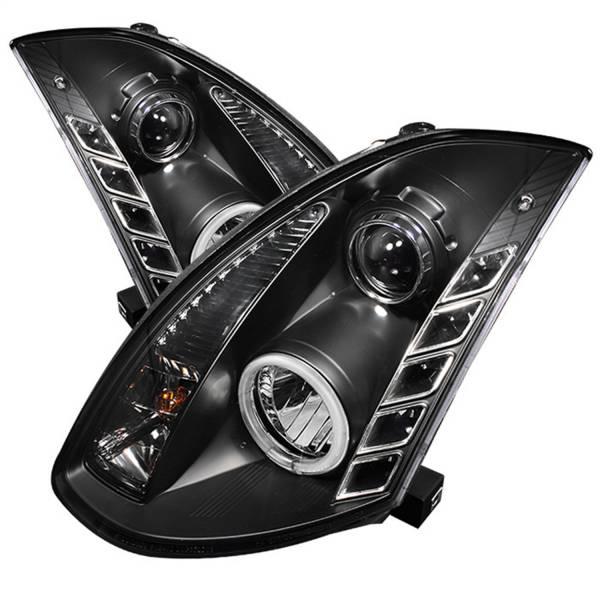 Spyder Auto - CCFL Halo DRL LED Projector Headlights 5029874