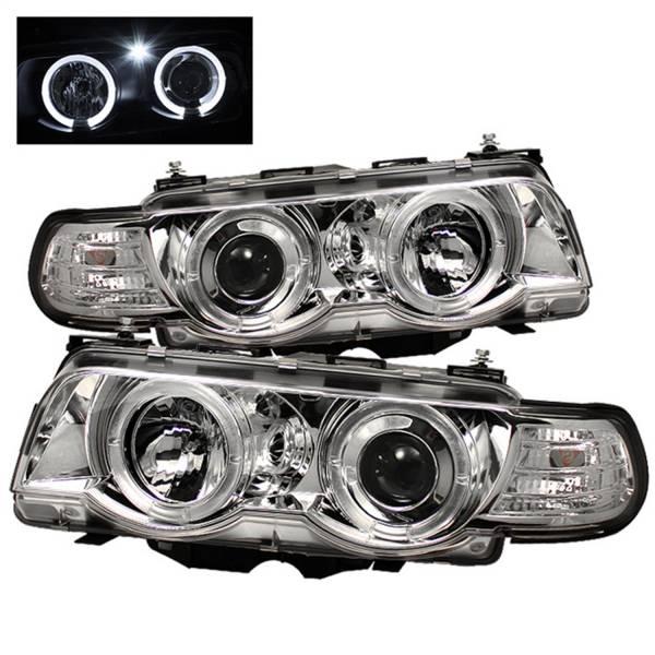 Spyder Auto - Halo Amber Projector Headlights 5008879