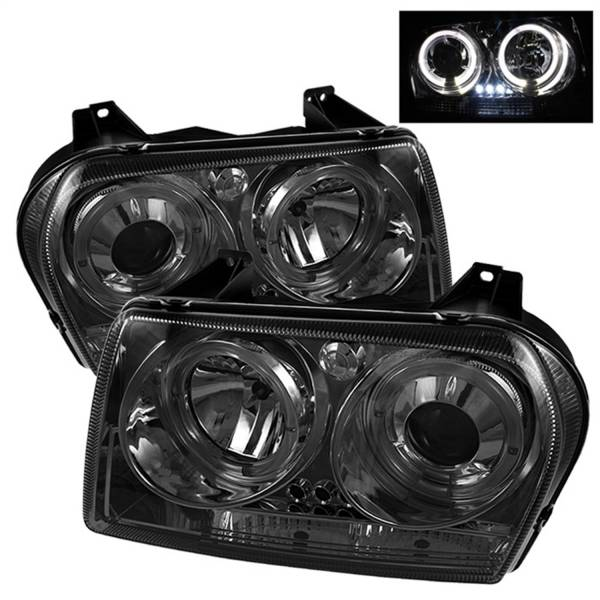 Spyder Auto - Dual Halo LED Projector Headlights 5009203