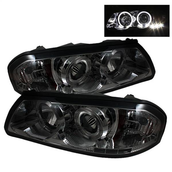 Spyder Auto - Halo LED Projector Headlights 5009425
