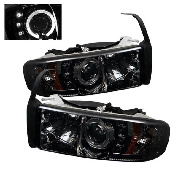 Spyder Auto - Halo LED Projector Headlights 5010100