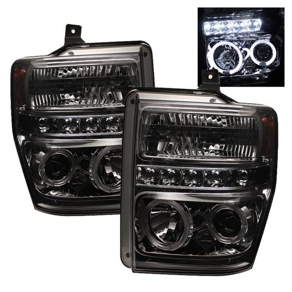 Spyder Auto - Halo LED Projector Headlights 5010599