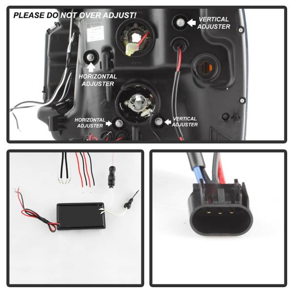 Spyder Auto - CCFL Halo Projector Headlights 5038319