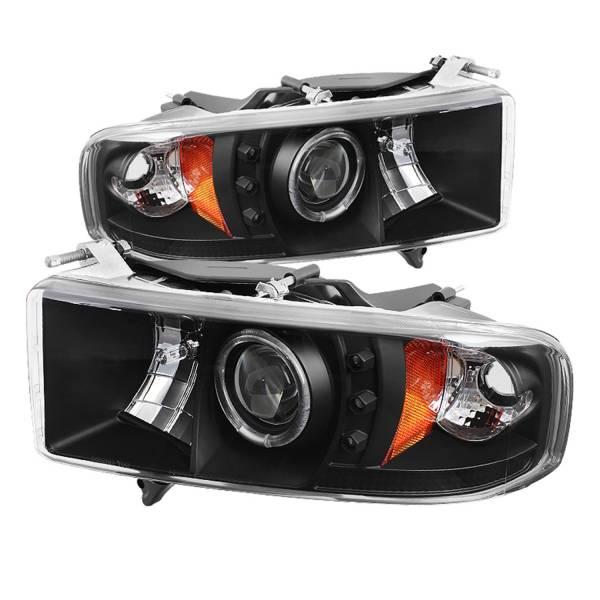 Spyder Auto - Halo LED Projector Headlights 5069764