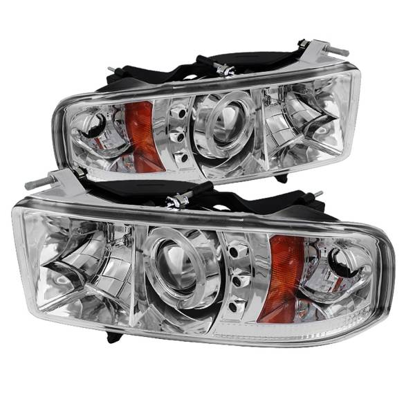 Spyder Auto - Halo LED Projector Headlights 5069771