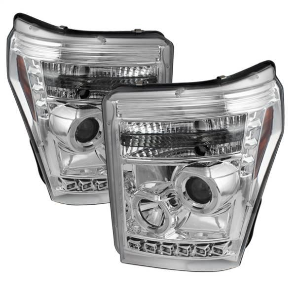 Spyder Auto - Halo LED Projector Headlights 5070265