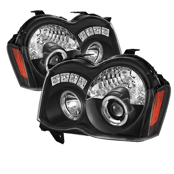 Spyder Auto - Halo LED Projector Headlights 5070166