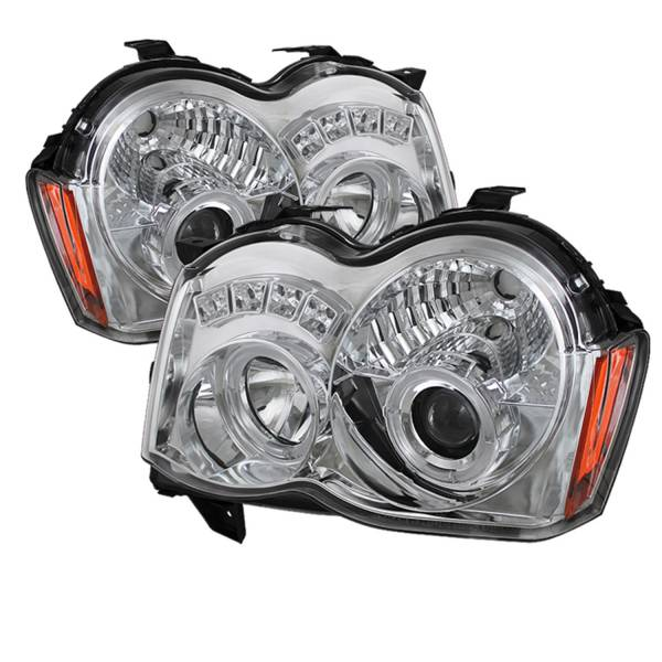 Spyder Auto - Halo LED Projector Headlights 5070159