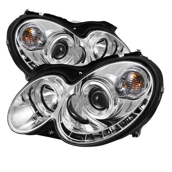 Spyder Auto - Halo DRL LED Projector Headlight 5038029
