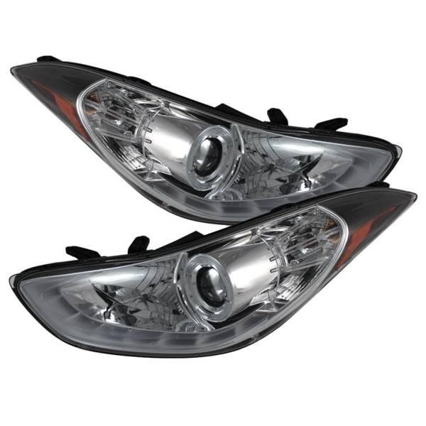 Spyder Auto - DRL LED Projector Headlights 5073624