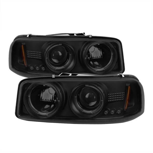 Spyder Auto - Halo LED Projector Headlights 5078292