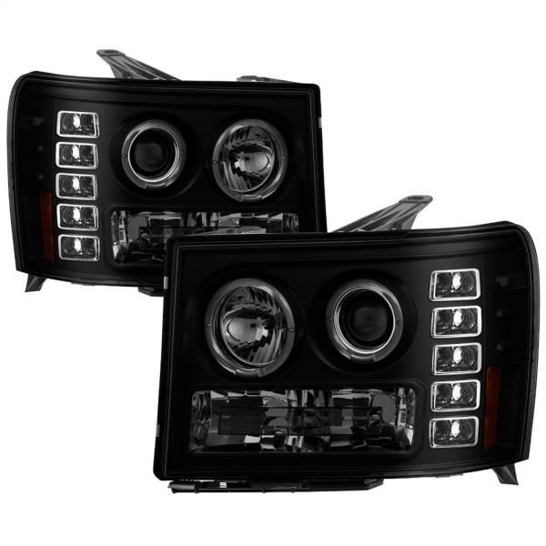 Spyder Auto - Halo LED Projector Headlights 5078506