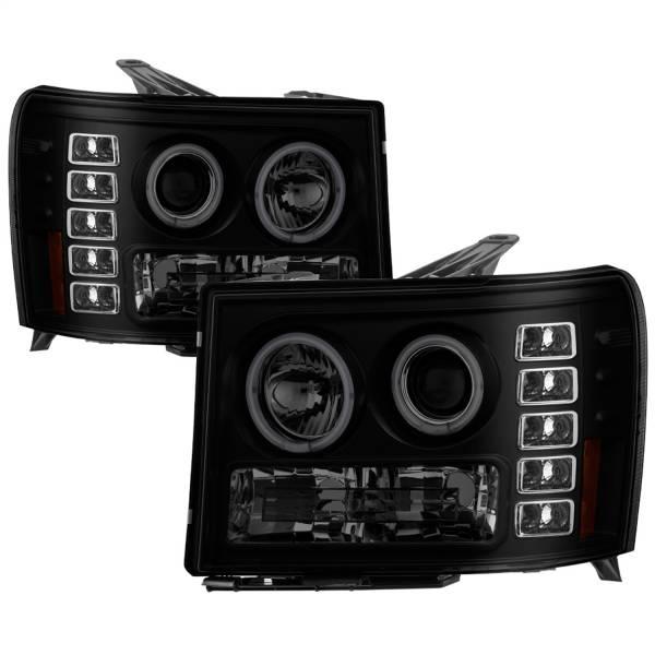 Spyder Auto - CCFL Halo LED Projector Headlights 5078919