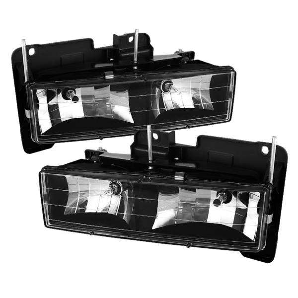 Spyder Auto - XTune Crystal Headlights 5069443