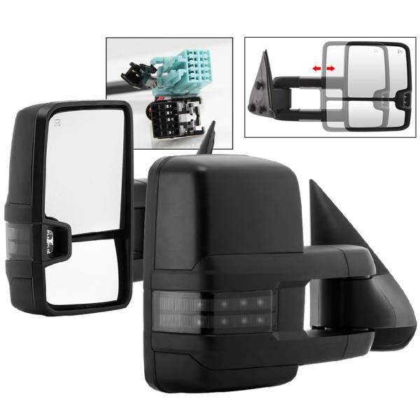 Spyder Auto - XTune Door Mirror Set 9936715