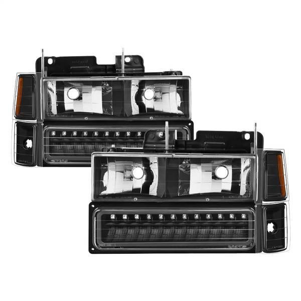Spyder Auto - XTune Bumper Head Lights/Corner Lights 5069542
