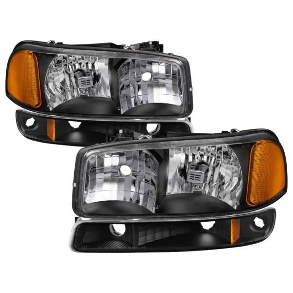 Spyder Auto - XTune Crystal Headlights/Bumper Lights 9037474
