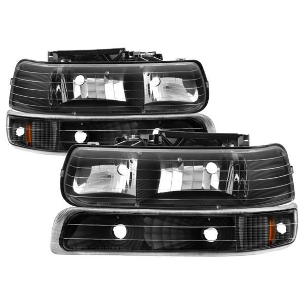 Spyder Auto - XTune Crystal Headlights/Bumper Lights 5064219