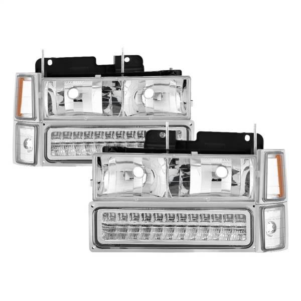 Spyder Auto - XTune Bumper Head Lights/Corner Lights 5069559