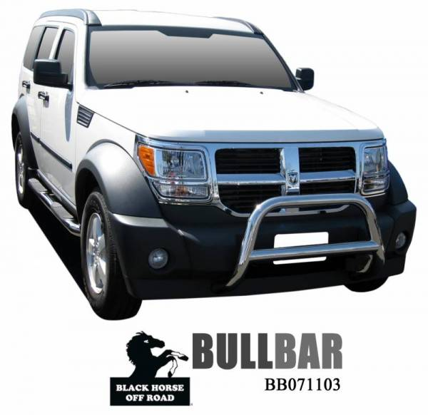 Black Horse Off Road - A | A Bar | Stainless Steel | BB071103SS