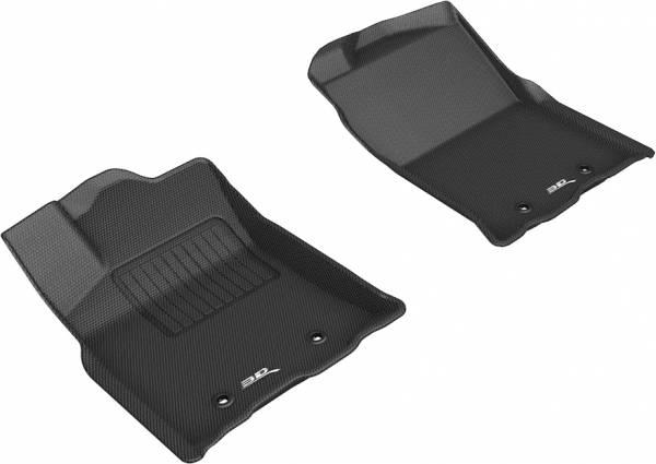 3D MAXpider - 3D MAXpider TOYOTA TACOMA ACCESS CAB/ DOUBLE CAB 2018-2020 KAGU BLACK R1
