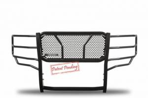 Black Horse Off Road - Black Horse Black Modular Steel Rugged Grille Guard Kit RU-CHSI07-B-KIT