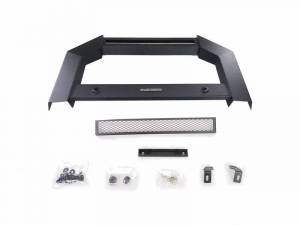 Black Horse Off Road - Black Horse Black No skid plate Steel Armour Bull Bar AB-NI20-NL - Image 3