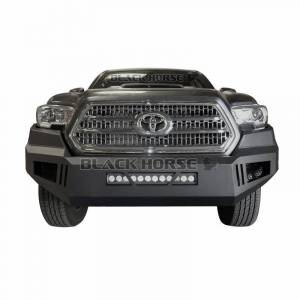 Black Horse Off Road - Black Horse Black Steel Armour Front Bumper AFB-TU14
