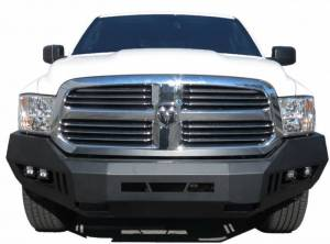 Black Horse Off Road - Black Horse Black Steel Armour Front Bumper Kit AFB-RA13-KIT