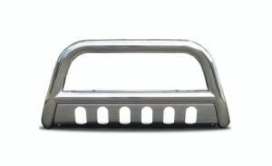 Exterior Accessories - Steelcraft - Steelcraft 03-05 DODGE RAM 1500/ 03-09 RAM 2500 & 3500/ 06-08 RAM 1500 MEGA CAB/ 06-09 RAM 2500/3500 MEGA CAB  BULL BAR S/S (Excl. GTX, HEMI SPORT, RUMBLE BEE, DAYTONA)
