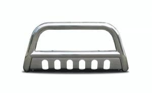 Steelcraft - Steelcraft 09-18 DODGE RAM 1500 BULL BAR  S/S (Excl. Rebel Trim & Incl. 2019 Ram 1500 Classic) (will interfere w/sensors, if equipped)