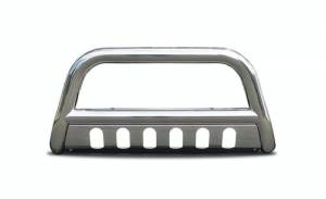Steelcraft - Steelcraft 05-17 NISSAN XTERRA / 05-12 PATHFINDER/ 05-20 FRONTIER BULL BAR S/S (tow hooks must be removed)