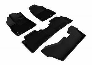3D MAXpider - U Ace 3D MAXpider ACURA MDX 2014-2019 KAGU BLACK R1 R2 R3 L1AC00601509