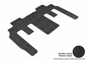 3D MAXpider - U Ace 3D MAXpider BUICK ENCLAVE 2008-2017/ CHEVROLET TRAVERSE 2009-2017/ GMC ACADIA 2007-2016/ GMC ACADIA LIMITED 2017 CLASSIC BLACK R2 BUCKET SEATS L1BC02322209