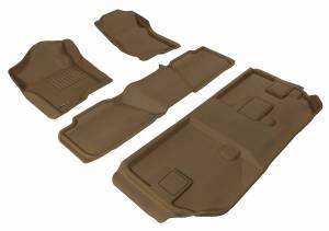 3D MAXpider - U Ace 3D MAXpider CHEVROLET SUBURBAN 2007-2014 KAGU TAN R1 R2 R3 BENCH SEAT L1CH04601502
