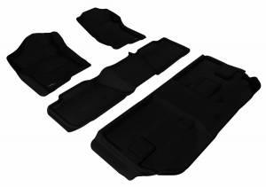 3D MAXpider - U Ace 3D MAXpider CHEVROLET SUBURBAN 2007-2014 KAGU BLACK R1 R2 R3 BENCH SEAT L1CH04601509
