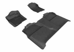 3D MAXpider - U Ace 3D MAXpider CHEVROLET SILVERADO 1500 CREW CAB/ GMC SIERRA 1500 CREW CAB 2007-2013 KAGU GRAY R1 R2 L1CH04701501