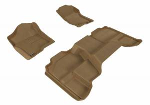 3D MAXpider - U Ace 3D MAXpider CHEVROLET SILVERADO 1500 EXTENDED CAB/ GMC SIERRA 1500 EXTENDED CAB 2007-2013 KAGU TAN R1 R2 L1CH05001502
