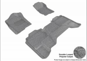 3D MAXpider - U Ace 3D MAXpider CHEVROLET SILVERADO 1500 EXTENDED CAB/ GMC SIERRA 1500 EXTENDED CAB 2007-2013 CLASSIC GRAY R1 R2 L1CH05002201