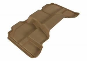 3D MAXpider - U Ace 3D MAXpider CHEVROLET SILVERADO 1500 EXTENDED CAB/ GMC SIERRA 1500 EXTENDED CAB 2007-2013 KAGU TAN R2 L1CH05021502