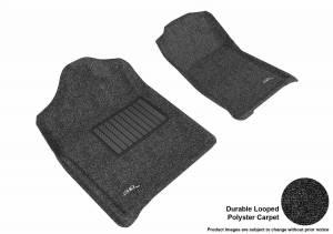 3D MAXpider - U Ace 3D MAXpider CHEVROLET SILVERADO 1500 REGULAR CAB/ GMC SIERRA 1500 REGULAR CAB 2007-2013 CLASSIC BLACK R1 BUCKET SEATS (2 PCS) L1CH05112209