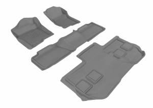 3D MAXpider - U Ace 3D MAXpider CHEVROLET SUBURBAN 2011-2014 KAGU GRAY R1 R2 R3 BUCKET SEATS L1CH05401501