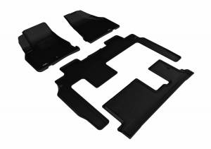 3D MAXpider - U Ace 3D MAXpider CHEVROLET TRAVERSE 2009-2017 KAGU BLACK R1 R2 R3 BENCH SEAT L1CH06001509