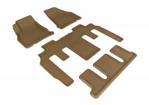 3D MAXpider - U Ace 3D MAXpider CHEVROLET TRAVERSE 2009-2017 KAGU TAN R1 R2 R3 BUCKET SEATS L1CH06101502
