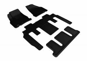 3D MAXpider - U Ace 3D MAXpider CHEVROLET TRAVERSE 2009-2017 KAGU BLACK R1 R2 R3 BUCKET SEATS L1CH06101509