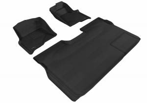 3D MAXpider - U Ace 3D MAXpider FORD F-150 2009-2010 SUPERCREW KAGU GRAY R1 R2 (1 EYELET, NOT FIT 4X4 M/T FLOOR SHIFTER, TRIM TO FIT SUBWOOFER) L1FR06701501