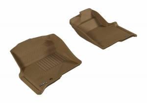 3D MAXpider - U Ace 3D MAXpider FORD F-150 2009-2010 REGULAR/ SUPERCAB/ SUPERCREW KAGU TAN R1 (1 EYELET, NOT FIT 4X4 M/T FLOOR SHIFTER) L1FR06711502