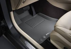 3D MAXpider - U Ace 3D MAXpider FORD F-150 2015-2019 SUPERCREW KAGU GRAY R1 (2 EYELETS, NOT FIT 4X4 M/T FLOOR SHIFTERS) L1FR08311501 - Image 5