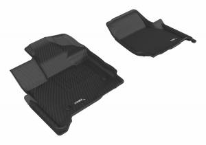3D MAXpider - U Ace 3D MAXpider FORD F-150 2015-2019 SUPERCAB KAGU BLACK R1 (2 EYELETS, NOT FIT 4X4 M/T FLOOR SHIFTERS) L1FR10111509 - Image 1